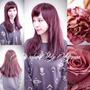 2017流行染髮髮型~粉霧色玫瑰棕染髮~推薦台北東區西門盯髮型師BENSON尚洋髮型