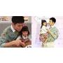 對女兒穿搭建議,暖爸代表宥勝:「蕾媽與蕾蕾喜歡最重要!」