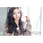 【西門町推薦染髮設計師BENNY|2017流行髮色・韓國藝人髮型・流行髮型髮色圖片】輕熟女溫塑燙+日系霧粉紫