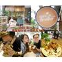 【食記】台北中山區 泰式早午餐 CoCo Brother 椰子冰淇淋 冰品 甜品 蜜糖吐司 熱壓吐司 包場辦活動 中山捷運站