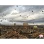 【土耳其・Anatolia】卡巴德基亞-熱氣球 floating through the air