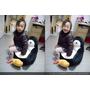【家飾】舒適居家佈置~特力屋《可拆洗兒童企鵝豆豆椅》,童趣又實用的新歡。