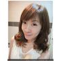 【染髮】咪娜媽愛變髮~秋意傭懶新髮色♥淺亞麻霧綠色♥超顯白又有質感。