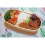 [食譜] 簡易便當菜。野餐季。LINKIFE 木質系列 天然水曲柳木綁帶便當盒(哎喔生活雜良)