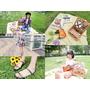 (穿搭)[影音] 春趣野餐時尚穿搭♥跟著我一起去郊遊吧!