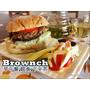(豐原圓環東路美食)【Brownch布朗奇】早午餐/輕食/下午茶:創意烤餅|日本鳥越麵包|現打溫果汁