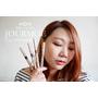 「Makeup」日本彩妝JOURMOE 3 in ONE 眼彩筆試色,立體眼妝一支搞定 #眼線膠筆 #眼線液筆 #眼影棒