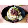 [食譜]初夏の小確幸 - 抹茶紅豆鐵鍋鬆餅(附美國Lodge鑄鐵平底鍋8吋小開箱)