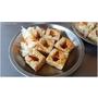 『台中。豐原區』企鵝臭豆腐║隱藏在外環道路ㄟ台灣小吃,外酥口感濕潤,泡菜清脆爽口~