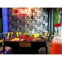 [台中勤美美食] 水貨-炭火烤魚來自四川讓人意猶未盡的鮮美烤魚料理!充滿夜店Fu的歡愉用餐氣氛~
