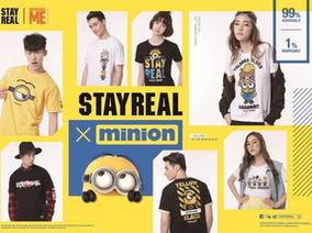 風靡全球的小小兵成為潮流主角 高唱芭娜娜之歌 STAYREAL X Minions 聯名系列歡樂登場!
