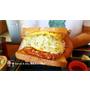 《新竹美食》吐司工寓Tosicon-新竹關東店。OPPA韓式煎土司。早餐。早午餐。下午茶|菜單。價位。內用外帶外送(影片)
