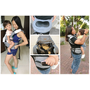 【揹巾推薦】Capella無尾熊坐墊式揹巾/嬰兒背帶、省力透氣,送給自己最棒的母親節禮物~