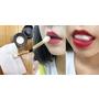 沒錯就是化妝棉塞嘴巴!韓籍彩妝師唇色持久不沾齒都靠這一招