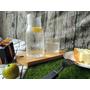 夏天清涼 LINKIFE 玻璃個人份茶具組 清爽無痕好收納 氣泡冷茶剛剛好~