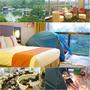 臺中公園智選假日飯店Holiday Inn Express Taichung Park▋兒童城市露營體驗四人房只需雙人房的價位,加贈玩劇島入園體驗劵,臨台中公園正對湖心亭景觀超美,日曜天地旁週遭生活機能方便