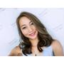 【西門町推薦染髮設計師BENNY|2017流行髮色・韓國藝人髮型・流行髮型髮色圖片】顯白又百搭冷棕大地色 BY UNA