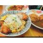 新竹竹北平價日式美食 樂陽食堂 炸雞咖哩飯 炸豬排丼飯 炸漢堡排咖哩飯