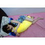 Nevermite雷伏蟎香蕉防蹣抱枕,防蹣抱枕推薦,可當抱枕、枕頭、靠墊,舒適美感和生活趣味兼具的長型抱枕
