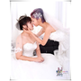 【桃園自助式婚紗】Lena Wedding Dress 莉娜婚紗禮服工作室~兩個女生的彩虹婚紗