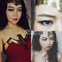 仿妝|神力女超人仿妝 wonder woman MakeUp 扁臉人的神奇3D畫皮術