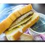新竹湖口好吃早餐推薦 晨吉司漢肉排蛋土司 湖口文化店 美味平價的早餐吐司三明治