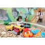 【台北 親子】捷運中山站4號出口童遊森林館,平價就能享受高檔玩具,還有令人驚豔的木球池
