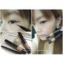 【體驗】KATE造型雙效眼線筆&3D時尚眉彩膏♥女孩最愛的自然系深魅棕眼妝感