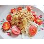 [涼拌料理]夏日涼拌青木瓜絲,零失敗/新手廚娘也能輕易上手的涼拌菜!