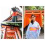 [2017京阪]當個穿和服逛寺廟的觀光客吧 - 京都.伏見稻禾大社(千本鳥居)