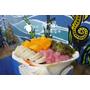 食記 ▏【2017小琉球】海の家貝殼海藻冰-吃冰也可以加海藻?