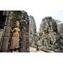 【亞洲,柬埔寨】秘境吳哥窟;今天微笑了嗎??穿越千年的微笑,「高棉的微笑」巴戎寺/巴揚寺 (Bayon) 。