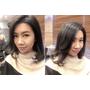 『髮型』台北東區髮廊 H Color~霧感灰+挑染PINK紫,資生堂染劑 / 剪+染髮 / 結構式護髮~染髮不用擔心變稻草
