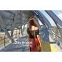 旅記 ▏【雲林北港】天空之橋|女兒橋-具現代感的空中廊道,俯瞰舊鐵橋與北港溪