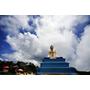 【柬埔寨,貢布市】上山避暑,感受神秘氣氛;波哥山自然公園(Bokor National Park)~ 拜見毛奶奶(Lok Yeay Mao),親訪黑宮殿(Black Palace),來Popokvil Waterfall透清涼。