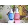 ♡♡+ONE%歐恩伊保濕小藍瓶、極潤小粉瓶精華液:是精華液也是乳液♡♡