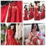 〔婚紗〕讓我肌膚超顯白的紅色晚禮服分享