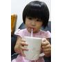 (開箱)韓國神奇吸管-巧克力~牛奶用吸管喝,變成巧克力牛奶啦~