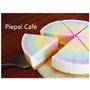 【桃園】有質感的「Piepai Cafe」,美到不要不要的彩虹生乳酪蛋糕!(桃園店)