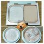 (簡單DIY)買了大罐蜜粉帶出門很麻煩嗎? 沒關西! 就把它變蜜粉餅吧!