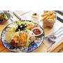 新埔商業午餐 |早午餐|不限時/插座/wifi | 介壽町二番 | 濃濃日式混搭風格早午餐/午餐/下午茶