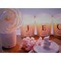 日本Art Lab香氛實驗室-100%大豆字母小蠟燭、除臭瓶中花<小蒼蘭蜜桃>