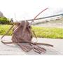 ∥ 包 ∥ 韓國連線-鏤空刺繡花瓣流蘇水桶包