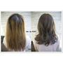 台北市髮型設計 自然披肩微捲長髮給人一種溫柔感 剪髮 冷色染髮 作品