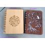 ♡♡復古文青風:我用木頭方程式客製化的木雕筆記本♡♡