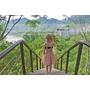 旅記 ▏【台南龍崎】龍崎夢幻湖-俯瞰大自然的造化之美|禪意水中亭