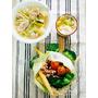 阿森師的噗龍共廚房|電磁爐就能完成華麗海鮮菜飯搭配青木瓜雞湯佐甜點百香果青木瓜
