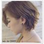 台北市髮型設計師推薦 燙髮 剪髮  冷咖棕色染髮