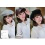 滋滋<愛分享>讓臉變小的最佳時髦配件-貝雷帽