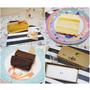 【孕】好吃彌月蛋糕 * 東京巴黎甜點-巴黎燒燉布蕾 V.S 堯平-原味布朗尼 ♥ 孕媽咪喜歡黑金哪派 ♥